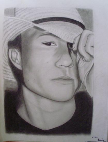 Heath Ledger par Jessie